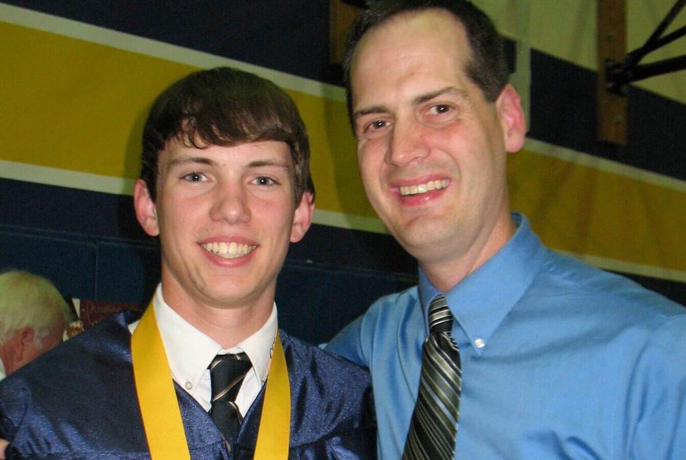 Matt at Graduation