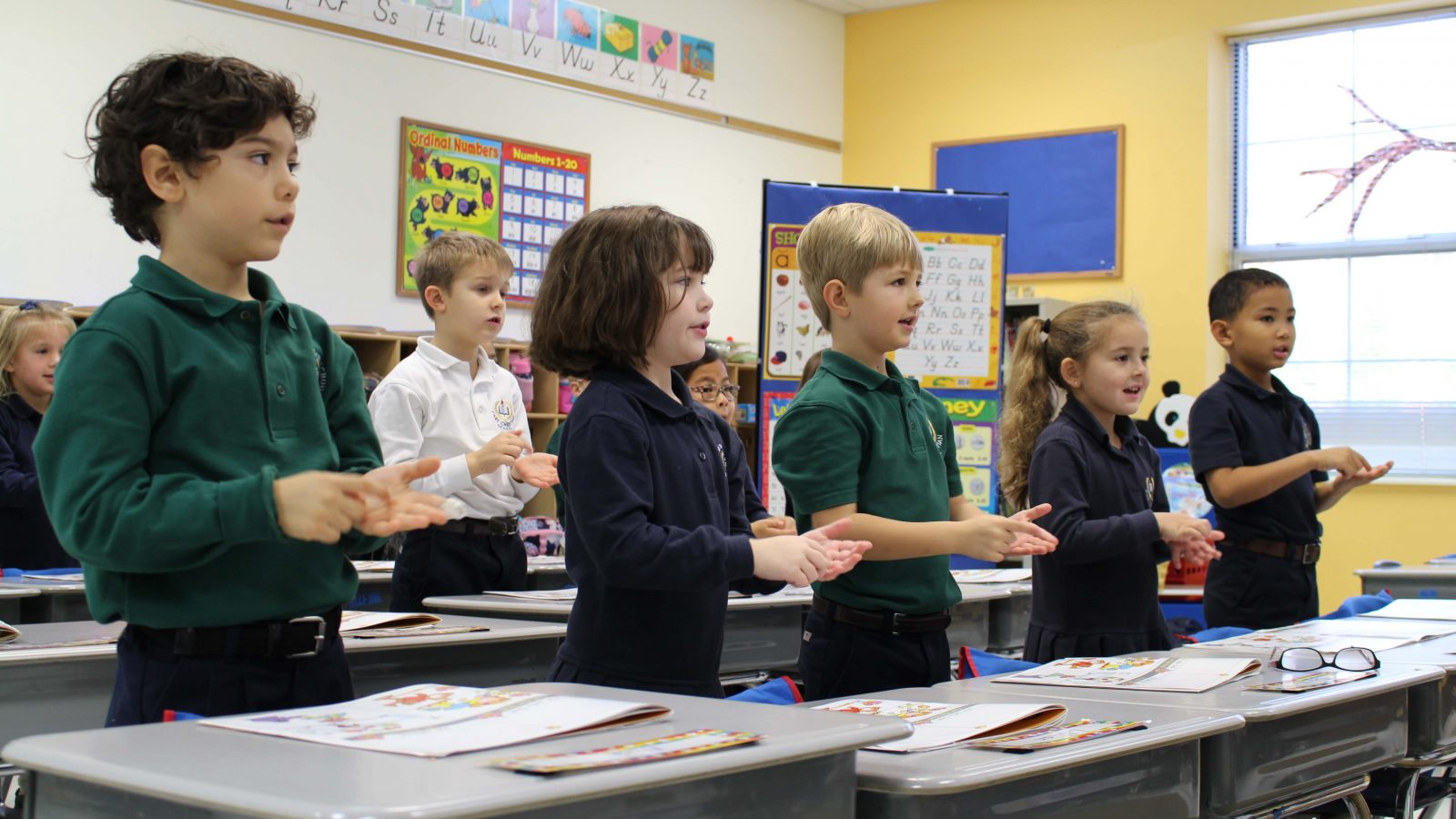 Cary Christian School Kindergarten Students - Classical Christian Education