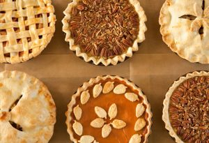 Thanksgiving Pies for Staff